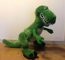 "Disney Toy Story T REX Dinosaur Plush Stuffed Toy Green 15"" Figure"