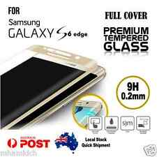 Curved Full Cover 9H Tempered Glass Screen Protector for Samsung Galaxy S6 Edge