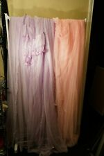 2 girls bed canopy mosquito net pink and purple see description
