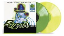 Poison Greatest Hits 1986-1996 2LP Yellow Green Vinyl Exclusive-Sealed