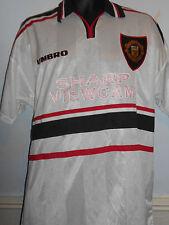 Manchester United Away Football Shirt Jersey (1997/1999) xl men's #183