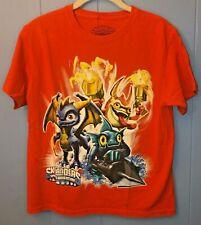 Skylanders Spyro's Adventures  Orange T-Shirt   Youth Large