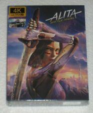 Alita Battle Angel FAC #117 Film Arena 4K 3D 2D Blu Ray Steelbook Full Slip XL