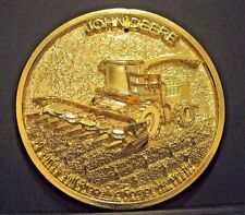 John Deere 50 Series Forage Harvester Sales Leader Trip 1999 Employee Medallion