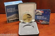 Royal Australian Mint 2002 Alumi & Bronze $5.00 Coin Battle of Sunda Strait 1942