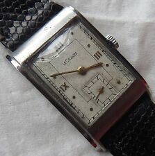 LeCoultre mens wristwatch staybrite case load manual 22,5 mm. aside