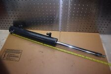 """Hydraulic Cylinder 1"""" Rod 12"""" stroke 2 Ports 1/2in Overall Length 29"""" New"""