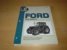 FORD TRACTOR 7840 8240 8340 Engine Workshop Repair Service Manual Owner Handbook