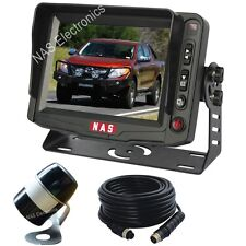"Car Reversing Cameras Kit With  5"" Monitor And Backup Wing Mounted Camera"