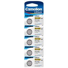 5x CR1620 Lithium Knopfzellen 3V Camelion Blister