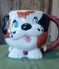 2000 3D Dog coffee mug Taster Choice/Coffee Mate Collectible. Dog, puppy