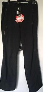adidas goretex Ski/Trekkinghose, seitl. Belüft., Gr. 54, verstellbare Träger