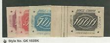 Brazil, Postage Stamp, #B1-B2 Used, B3-B4 Mint Hinged, 1934, Jfz