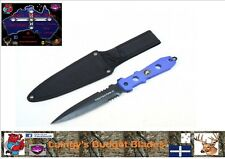 The Protector II  12 Inch Tactical Hunting Knife, Full Tang Blade with Sheath