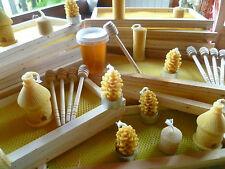 cire d'abeille Mini Cuillère à Miel en Bois pots de miel produits de la ruche