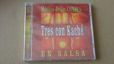MUSICA DE LOS CONDES TRES CON KACHE EN SALSA ENVIDIA Salsa Rare CD