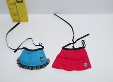 MATTEL HOME ICK GENUINE MONSTER HIGH GOTH APRONS ACCESSORY LOT
