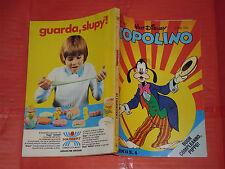 WALT DISNEY- TOPOLINO libretto- n° 1381 a - originale mondadori- anni 60/80