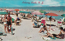 ASBURY PARK , New Jersey , 1950-60s; Sunny Day on the Beach