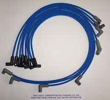CHEVY CAMARO / PONTIAC FIREBIRD 1987 5.7L 350 TPI BLUE 8mm Spark Plug Wires USA!