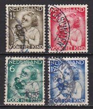 1934 kinderzegels complete serie NVPH 270 / 273 gestempeld