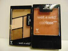 Wet n Wild Color Icon Blush # 328 B Mellow Wine + # 340B Quad Eyeshadows ~ NEW