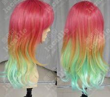 Stephanie Dora / Rainbow Gradient / High temperature wire / cos wig