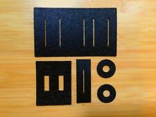 New Slider and Switch Gaskets / Dust Protector Set for Roland CompuRhythm CR-78