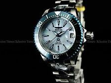 Invicta 38MM Women Limited Ed Diamonds Crown Grand Diver MOP NH35A Auto SS Watch