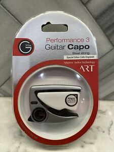 G7th Performance 3 Steel-string Capo Special-edition Celtic - Silver