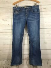 Kut from the Kloth So Low Womens Distressed Denim Jeans Size 8 Medium Wash