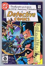 Detective Comics #500 VF/NM Signed w/COA Walt Simonson 1981 DC 1st Print PWC