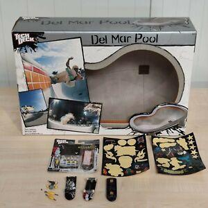 Tech Deck Del Mar Pool Fingerboard Rarität Skateboard Gebraucht