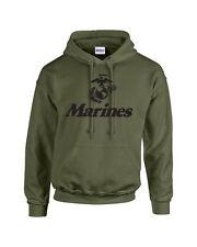 Marine Corps Logo Anchor Eagle United States Marines Usmc Military Hoodie 426