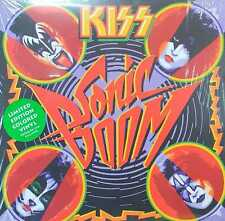 Kiss Sealed Sonic Boom Vinyl Record Green Limited Edition VINYL UK Sealed