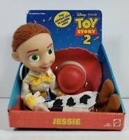 "Disney Pixar Jessie 14"" Cuddle Plush Toy Story 2 Mattel 82876"