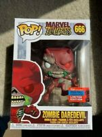 Zombie Daredevil NYCC Funko Pop Vinyl New in Mint Box + Protector
