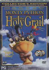 MONTY PYTHON & THE HOLY GRAIL - Graham Chapman, John Cleese, Eric Idle -  2DVD