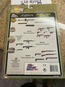 1:6 21st Century Toys Ultimate Soldier HEAT SERIES II SHOT GUNS CARD BACK ONLY