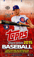 2015 Topps Update Baseball - Pick A Player - Cards 201-400