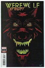 Werewolf By Night # 1 of 4 Veregge Variant Cover NM Marvel