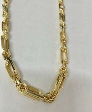 Gold Plated Sterling Silver Milano Rope Chain Necklace