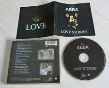 CD ALBUM BEST OF ABBA LOVE STORIES 17 TITRES 1998