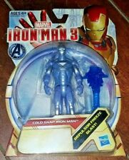 "Marvel Avengers Initiative Iron Man 3: COLD SNAP IRON MAN 4"" Action Figure!"