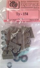 EQG72126 Equipage 1/72 Rubber Wheels for Tupolev Tu-154