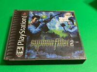 🔥 SONY PS1 PlayStation One PSX 💯 COMPLETE Game 🔥 RARE - SYPHON FILTER 2
