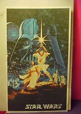 Vintage 1978 Star Wars Print & Page to color 9 x 14 in