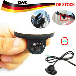 Mini Rückfahrkamera Wasserdicht Auto KFZ Nachtsicht 360° HD Einparkhilfe Kamera