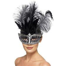 Maschere grigio Smiffys in poliestere per carnevale e teatro