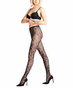 Falke Whirlwind Women's Stockings Fishnet Tights With Lace Pattern